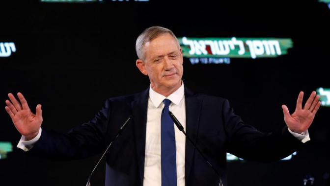 غانتس: المسألة الأمنية هي المركزية لحل الصراع مع الفلسطينيين