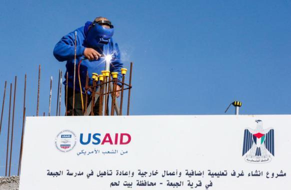 رسميا.. وقف مساعدات USAID في الضفة وغزة