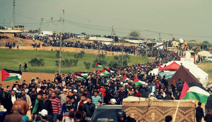 تقديرات إسرائيلية: مسيرات العودة في القطاع ستتصاعد الشهر المقبل