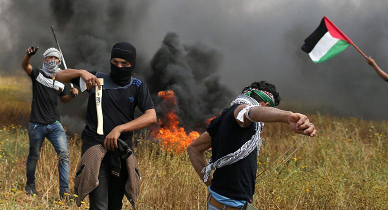 استعدادات لمسيرات العودة بغزة ودعوات للاحتشاد في الأقصى