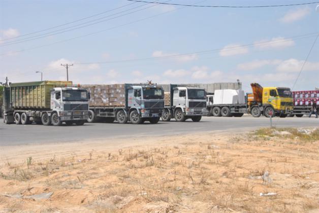 صحيفة عبرية: من الصعب أن تمر البضائع إلى غزة بعد الآن عبر كرم أبو سالم