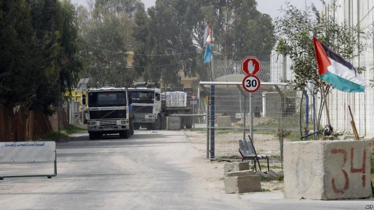 الداخلية بغزة توضح ما حدث في معبر كرم أبو سالم اليوم