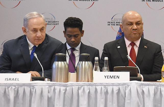 تسريب تصريحات نتنياهو خلال اجتماع مغلق مع وزراء بينهم عرب في وارسو