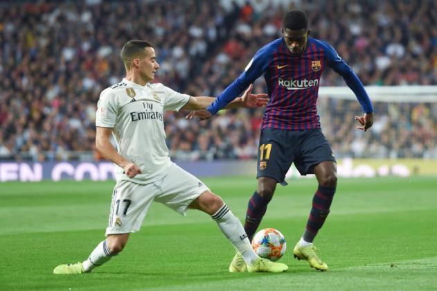 برشلونة يصعق ريال مدريد بثلاثية ويصعد لنهائي كأس الملك