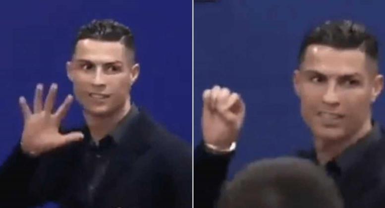 رئيس أتلتيكو مدريد يرد على إهانة رونالدو