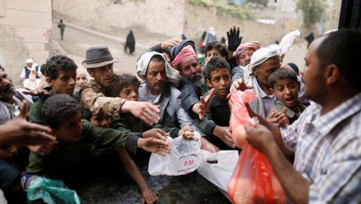 """غوتيريش: 10 ملايين يمني على بعد خطوة واحدة من """"المجاعة"""""""