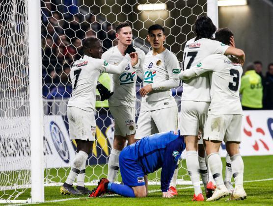 باريس سان جيرمان يبلغ ربع نهائي كأس فرنسا