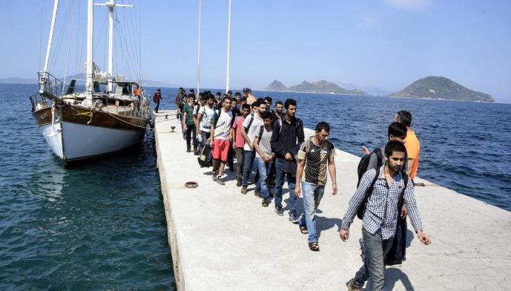 خفر السواحل التركي يضبط (43) مهاجرا غير نظامي غالبيتهم فلسطينيون