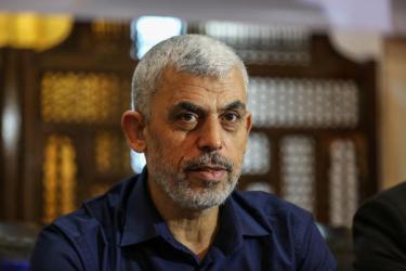 السنوار يبلغ هيئات دولية بـ 3 سيناريوهات حول مستقبل غزة