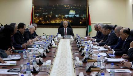 حكومة الحمد الله: أية خطوة لا تقرها منظمة التحرير لا يعول عليها ولا قيمة لها