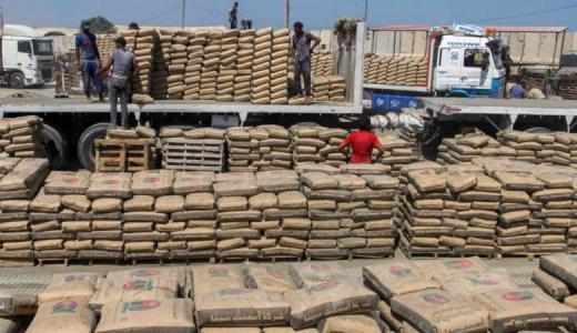 ساحة جمركية لاستقبال البضائع الواردة من معبر كرم أبو سالم وبوابة صلاح الدين خلال أيام