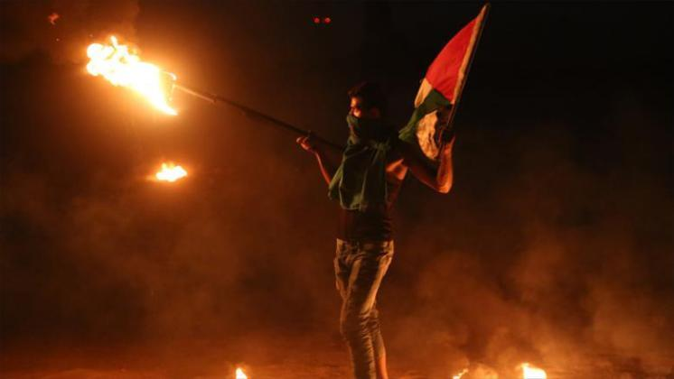 وحدات مسيرات العودة: سنعمل بقوة وبكل الوسائل لإرباك الاحتلال (فيديو)