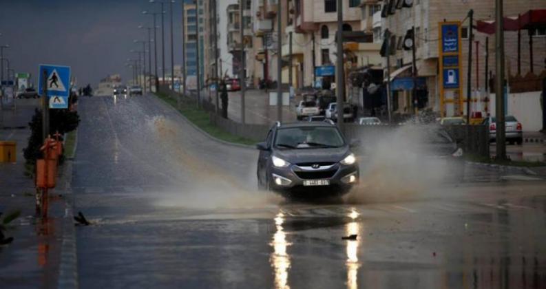 طقس فلسطين غدًا و تطورات المنخفض الجوي