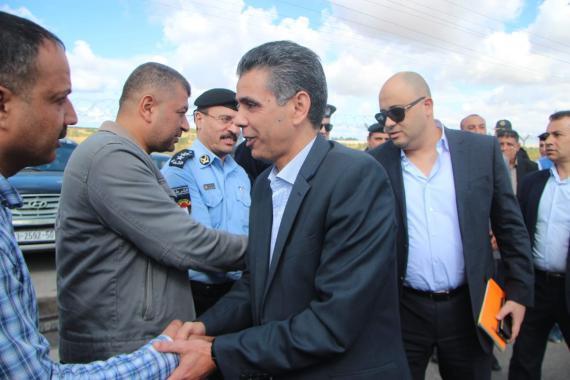 الوفد الأمني المصري يصل قطاع غزة عبر ايرز