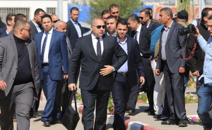 الوفد الأمني المصري يتفقد مخيمات العودة شرق قطاع غزة