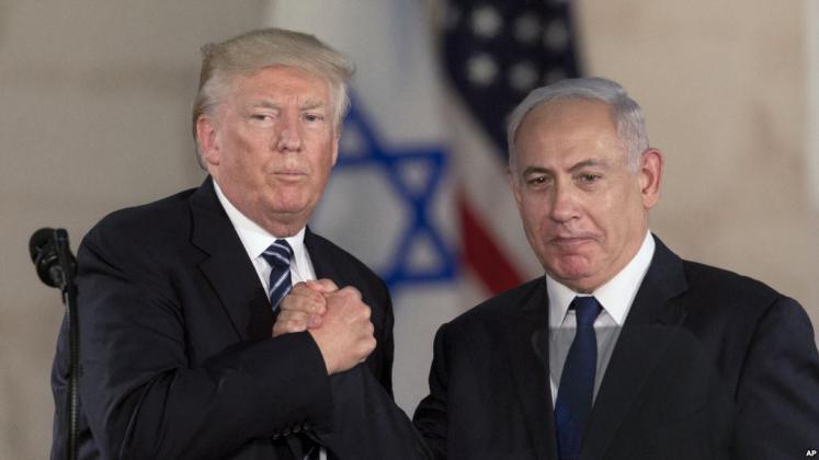 ترامب سيوقع غداً مرسوماً يعترف بالسيادة الإسرائيلية على الجولان