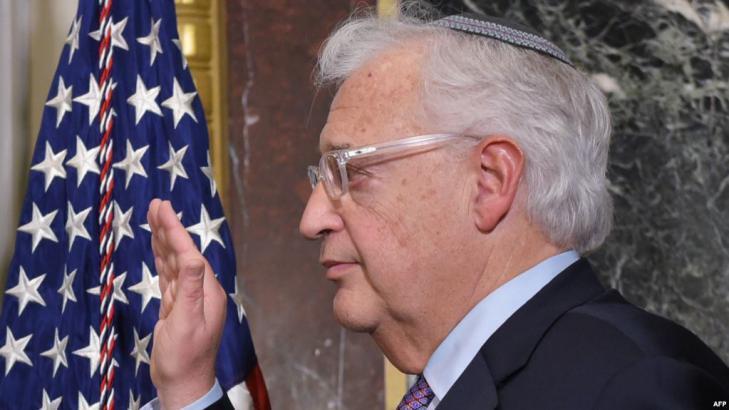 """فريدمان: """"صفقة القرن"""" قد تتطور لحكم ذاتي محسن للفلسطينيين دون القدس"""