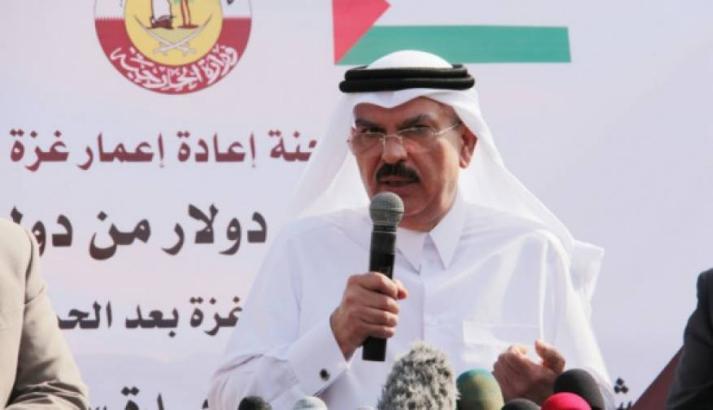 العمادي: اللجنة القطرية تجهز لإطلاق أكبر مشروع لتوزيع القسائم الشرائية في غزة