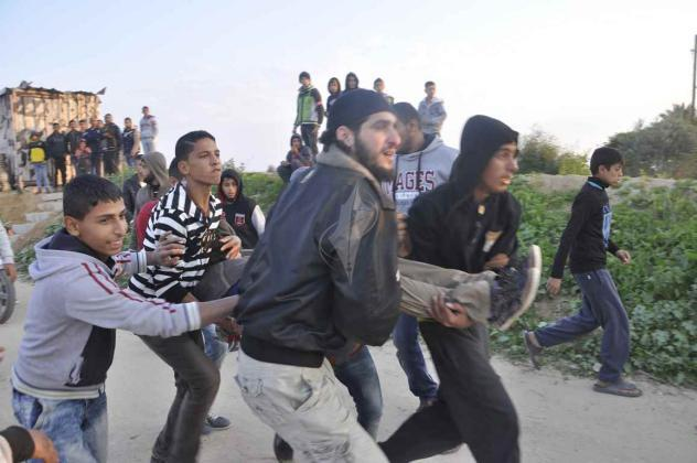 إصابات برصاص الاحتلال في مسيرات العودة شرق غزة