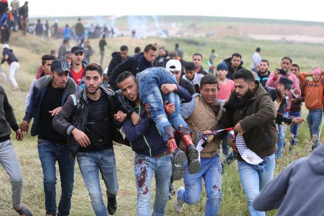 مركز حقوقي: 273 فلسطينيًا استشهدوا منذ بدء مسيرات العودة
