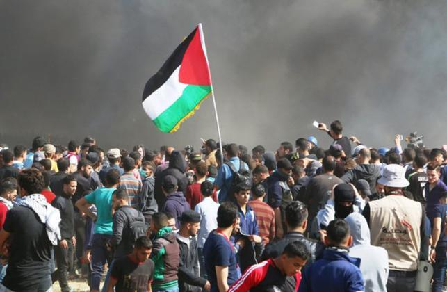 """الغزيون يستعدون لجمعة """"المسيرات خيارنا"""" شرق قطاع غزة"""