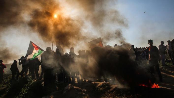 الصحة بغزة: 10 إصابات بالرصاص احداها خطيرة شرق غزة