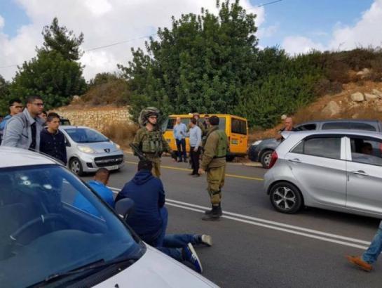 جيش الاحتلال يغلق حاجز قلنديا بزعم دهس أحد الجنود