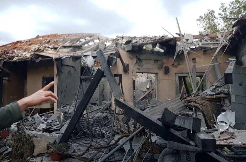 صواريخ غزة شمال تل أبيب.. عدد من الإصابات ودمار كبير