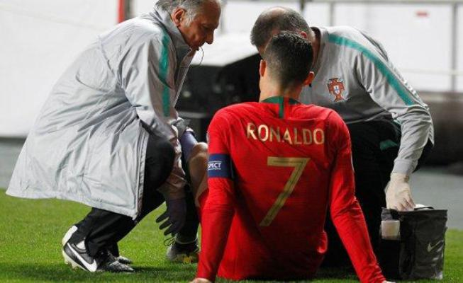 بيان عاجل من يوفنتوس بشأن إصابة رونالدو