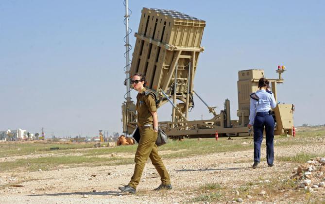 """جيش الاحتلال ينشر """"القبة الحديدية"""" في جميع أنحاء إسرائيل"""