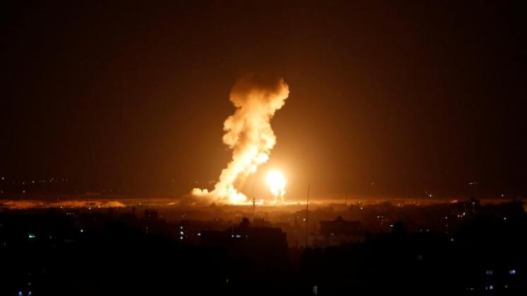 الطائرات الإسرائيلية تقصف عدة مواقع في قطاع غزة