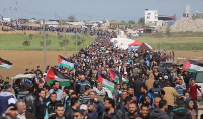 """حركة حماس تتجاهل التهديدات الإسرائيلية بشأن """"المسيرة المليونية"""""""