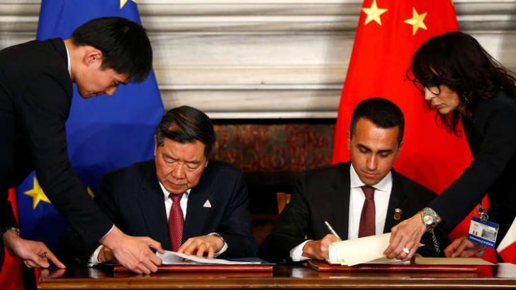 بروتوكولات تعاون تاريخية بين الصين وإيطاليا