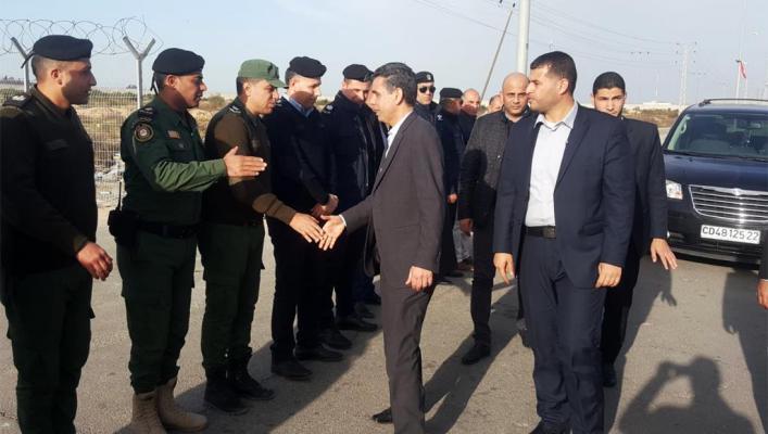 الوفد الأمني المصري يعود لغزة عبر معبر بيت حانون