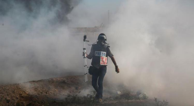 غزة.. إصابة 3 صحافيين خلال تغطيتهم لمسيرات العودة