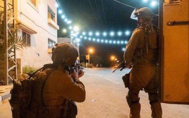 مواجهات عقب اقتحام جيش الاحتلال مدينة بيتونيا
