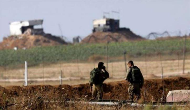 جيش الاحتلال يزعم تفجير عبوات ناسفة كانت مزروعة على الحدود مع غزة