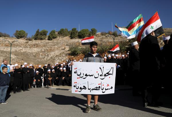 """أمريكا تبدأ تسجيل أبناء الجولان السوري المحتل كـ """"إسرائيلي الأصل"""""""