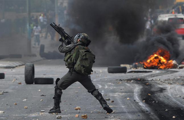 إصابات برصاص جيش الاحتلال وحالات اختناق خلال مواجهات في قباطية