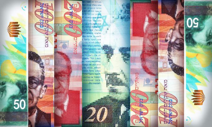 ارتفاع سعر صرف الدولار مقابل الشيكل
