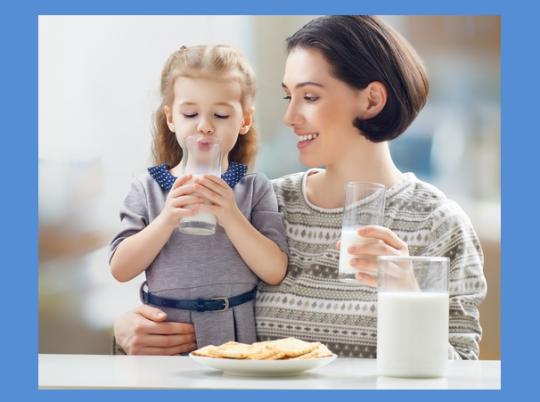ما الكمية التي يحتاجها طفلك من الحليب يومياً