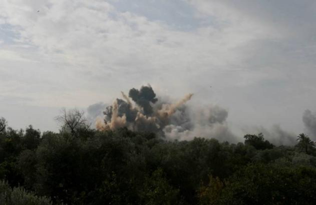 الكشف عن أسباب الانفجارات شمال غزة