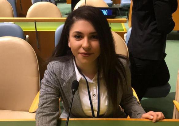 إنجاز عالمي للفلسطينية زينة شريدي في الأمم المتحدة (فيديو)