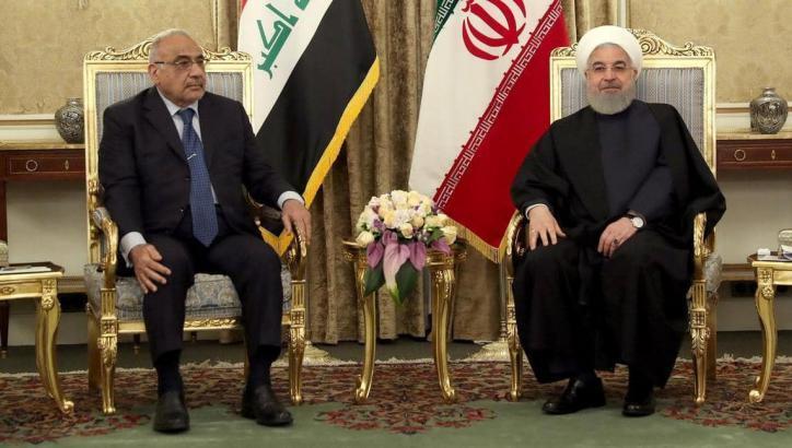 إيران تعد العراق بتوسيع تجارة الطاقة والغاز