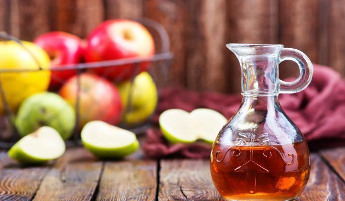 خل التفاح والليمون لعلاج التهاب البنكرياس