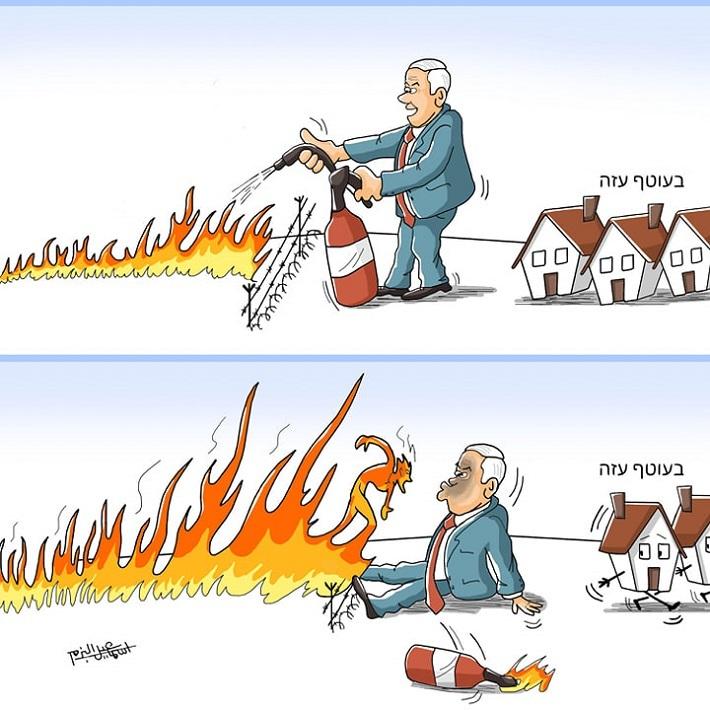 فشل نتنياهو بغلاف غزة