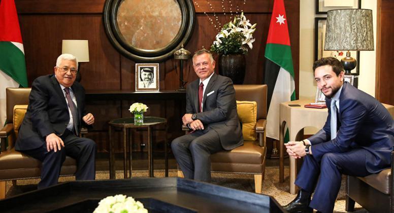 العاهل الأردني لـ الرئيس عباس: