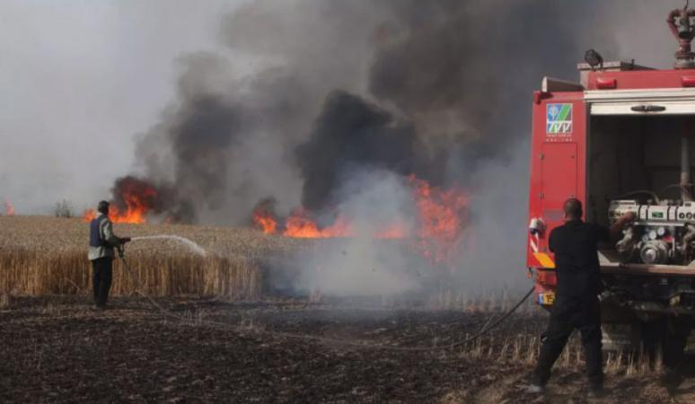 """7 حرائق في مستوطنات """"غلاف غزة"""" بفعل البالونات الحارقة"""