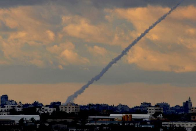 إطلاق صاروخ من غزة تجاه مستوطنة سديروت