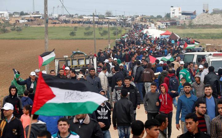 """جماهير غزة تتجهز لـ """"جمعة لا لضم الضفة"""" شرق القطاع"""